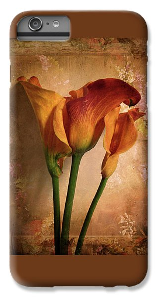 Vintage Calla Lily IPhone 6 Plus Case