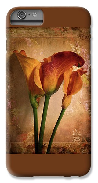 Vintage Calla Lily IPhone 6 Plus Case by Jessica Jenney