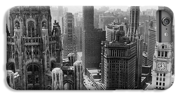 Vintage Chicago Skyline IPhone 6 Plus Case