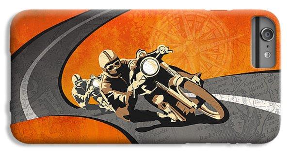 Motorcycle iPhone 6 Plus Case - Vintage Motor Racing  by Sassan Filsoof