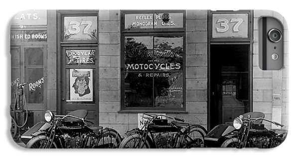 Vintage Motorcycle Dealership IPhone 6 Plus Case