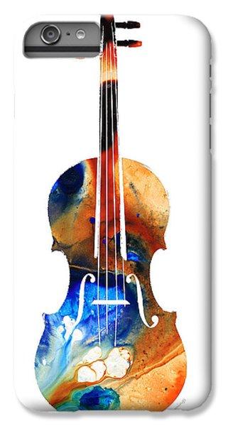 Violin Art By Sharon Cummings IPhone 6 Plus Case by Sharon Cummings
