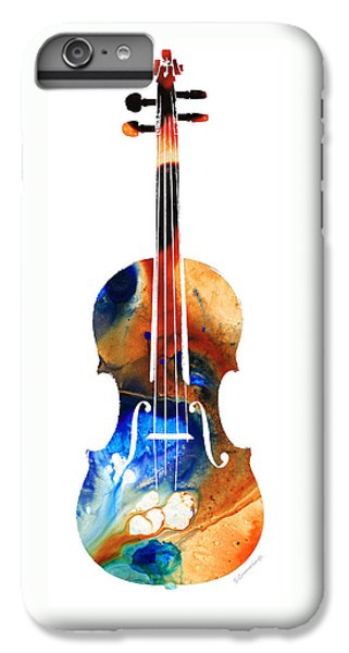 Violin Art By Sharon Cummings IPhone 6 Plus Case