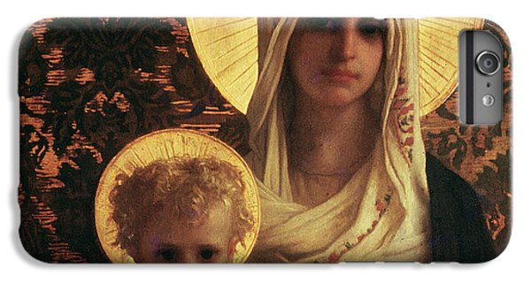 Virgin And Child IPhone 6 Plus Case by Antoine Auguste Ernest Herbert