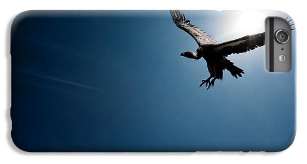 Vulture Flying In Front Of The Sun IPhone 6 Plus Case by Johan Swanepoel