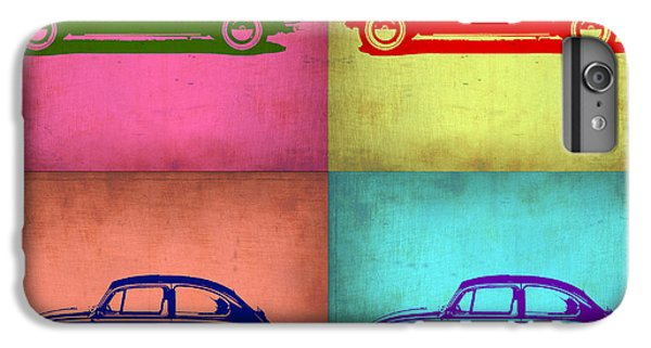 Vw Beetle Pop Art 1 IPhone 6 Plus Case by Naxart Studio