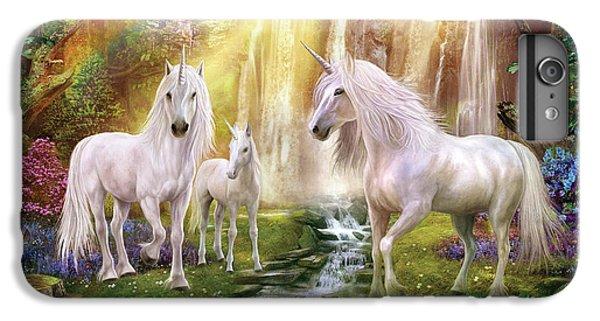 Waaterfall Glade Unicorns IPhone 6 Plus Case by Jan Patrik Krasny