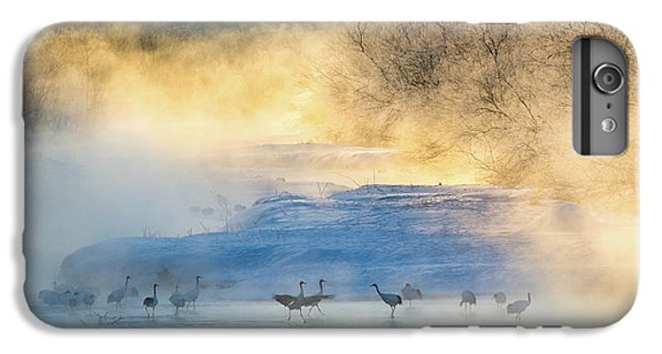 Crane iPhone 6 Plus Case - Wake-up Dance by C. Mei