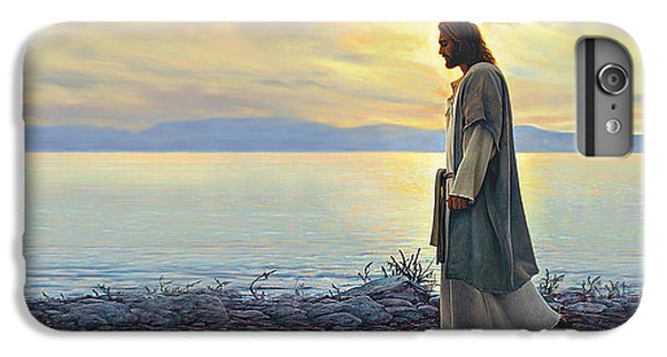 Christ iPhone 6 Plus Case - Walk With Me by Greg Olsen