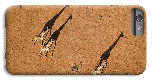 Africa iPhone 6 Plus Case - Walking Under Sunset by John Fan