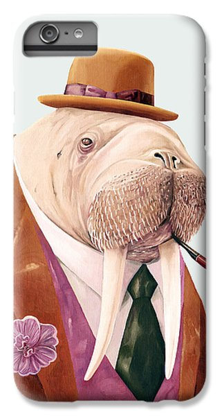 Walrus IPhone 6 Plus Case by Animal Crew