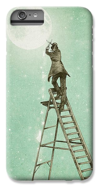 Fantasy iPhone 6 Plus Case - Waning Moon by Eric Fan