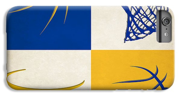 Warriors Ball And Hoop IPhone 6 Plus Case