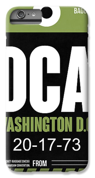 Washington D.c. Airport Poster 2 IPhone 6 Plus Case