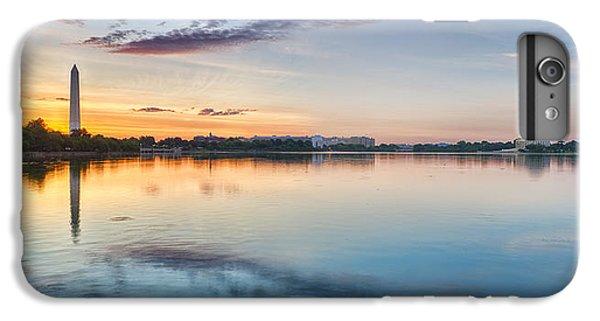 Jefferson Memorial iPhone 6 Plus Case - Washington Dc Panorama by Sebastian Musial