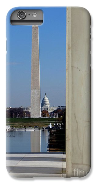 Washington Landmarks IPhone 6 Plus Case by Olivier Le Queinec