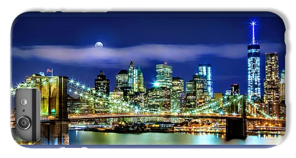 Watching Over New York IPhone 6 Plus Case by Az Jackson