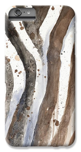 Watercolor Animal Skin II IPhone 6 Plus Case by Patricia Pinto