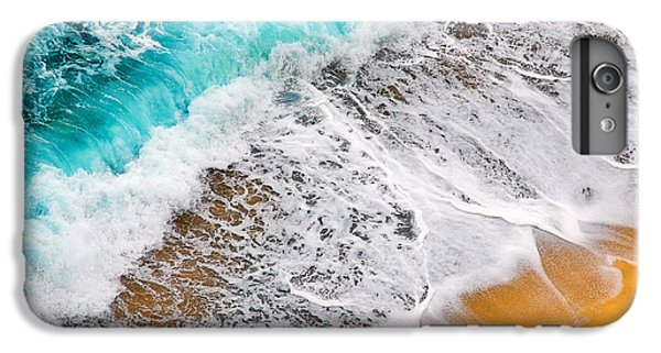 Waves Abstract IPhone 6 Plus Case by Silvia Ganora
