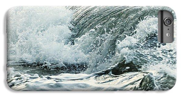 Water Ocean iPhone 6 Plus Case - Waves In Stormy Ocean by Elena Elisseeva