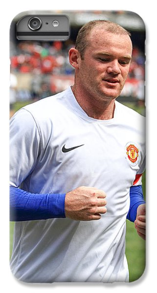 Wayne Rooney iPhone 6 Plus Case - Wayne Rooney 5 by Keith R Crowley