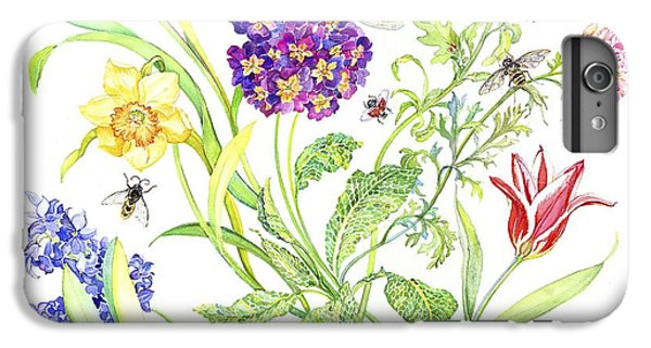 Welcome Spring I IPhone 6 Plus Case by Kimberly McSparran