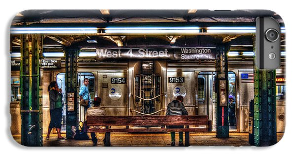 London Tube iPhone 6 Plus Case - West 4th Street Subway by Randy Aveille