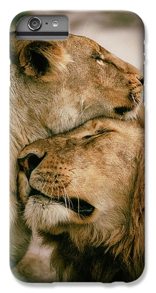 Lion iPhone 6 Plus Case - What Is Love by Mohammed Alnaser