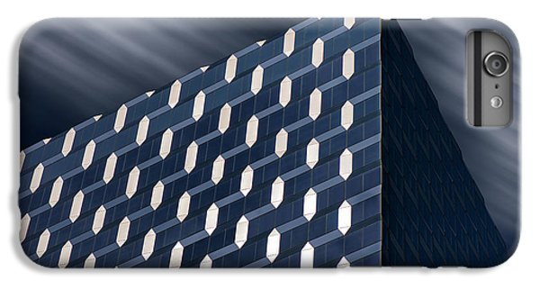 Building iPhone 6 Plus Case - White And Blue by Louis-philippe Provost