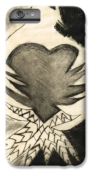 White Dove Art - Comfort - By Sharon Cummings IPhone 6 Plus Case by Sharon Cummings