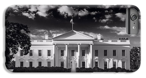 White House Sunrise B W IPhone 6 Plus Case by Steve Gadomski