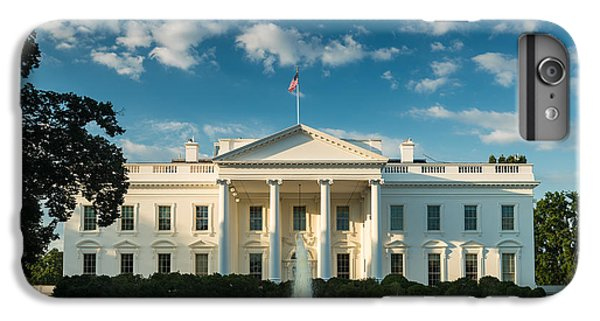 White House Sunrise IPhone 6 Plus Case by Steve Gadomski