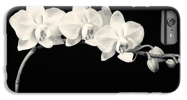 White Orchids Monochrome IPhone 6 Plus Case
