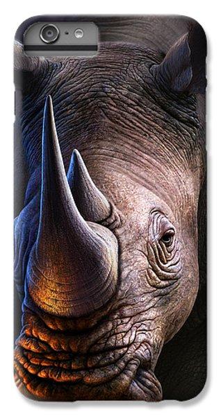 Africa iPhone 6 Plus Case - White Rhino by Jerry LoFaro