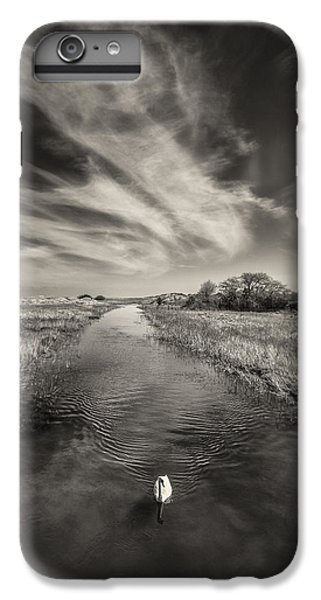 White Swan IPhone 6 Plus Case by Dave Bowman