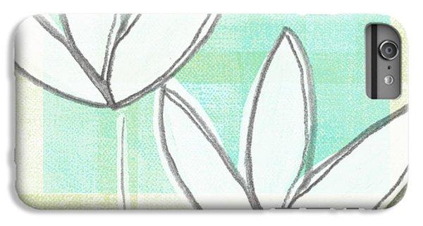 Tulip iPhone 6 Plus Case - White Tulips by Linda Woods