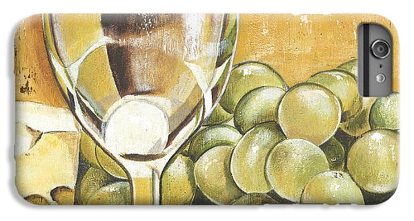 White Wine And Cheese IPhone 6 Plus Case by Debbie DeWitt
