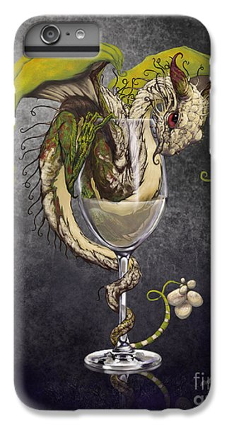 White Wine Dragon IPhone 6 Plus Case by Stanley Morrison
