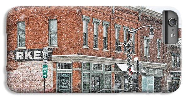 Whitehouse iPhone 6 Plus Case - Whitehouse Ohio In Snow 7032 by Jack Schultz