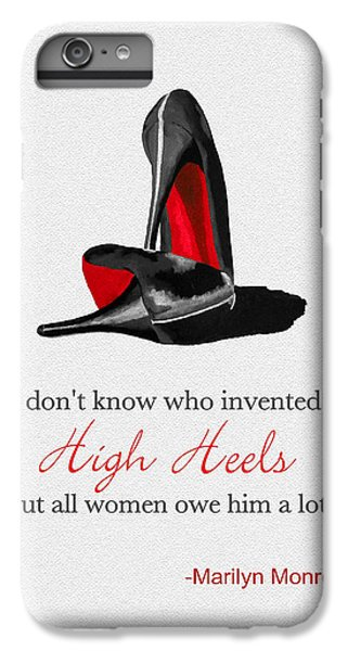 Who Invented High Heels? IPhone 6 Plus Case by Rebecca Jenkins