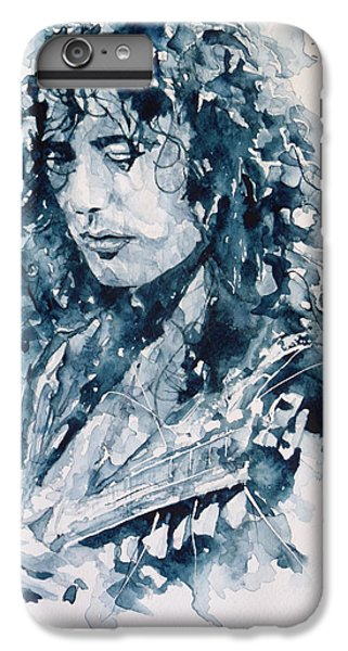 Whole Lotta Love Jimmy Page IPhone 6 Plus Case by Paul Lovering