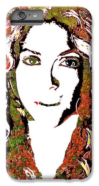 Shakira iPhone 6 Plus Case - Wild Art Shakira by Dalon Ryan