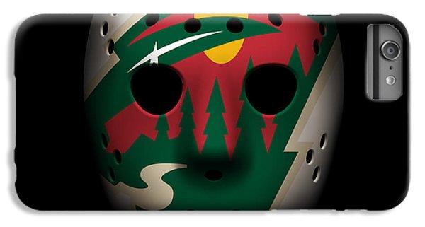 Wild Goalie Mask IPhone 6 Plus Case by Joe Hamilton