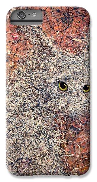 Rabbit iPhone 6 Plus Case - Wild Hare by James W Johnson