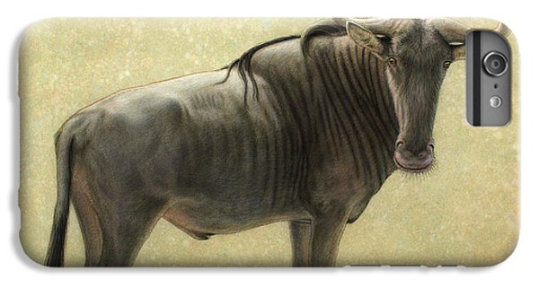 Nature iPhone 6 Plus Case - Wildebeest by James W Johnson