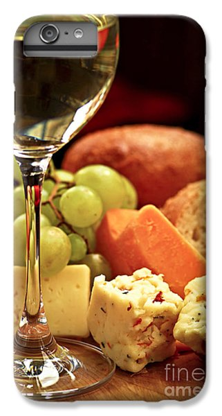 Wine And Cheese IPhone 6 Plus Case by Elena Elisseeva