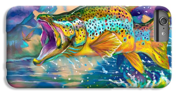 Wings And Fins  IPhone 6 Plus Case by Yusniel Santos