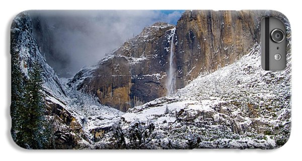 Winter At Yosemite Falls IPhone 6 Plus Case