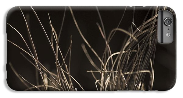 IPhone 6 Plus Case featuring the photograph Winter Grass 2 by Yulia Kazansky