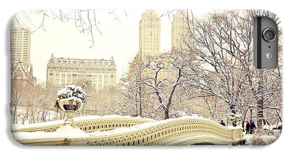 Central Park iPhone 6 Plus Case - Winter - New York City - Central Park by Vivienne Gucwa